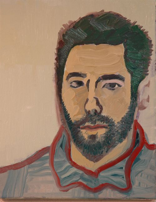 Self-portrait, 2006, 24 x 30 cm 2