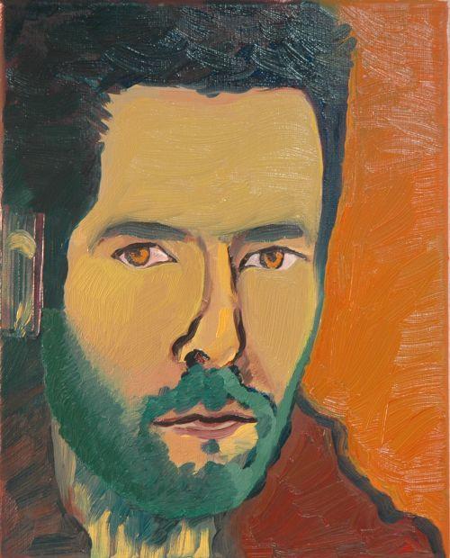 Self-portrait, 2006, 24 x 30 cm 4