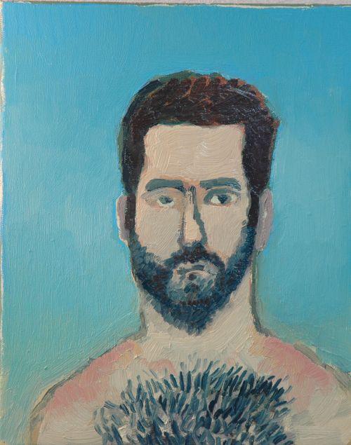 Self-portrait, 2006, 24 x 30 cm 5