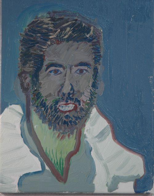 Self-portrait, 2006, 24 x 30 cm 6