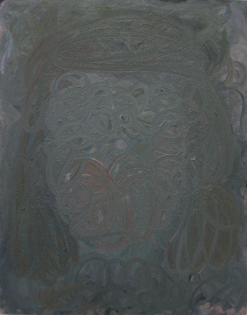 Self-portrait, 2010, 120 x 95 cm