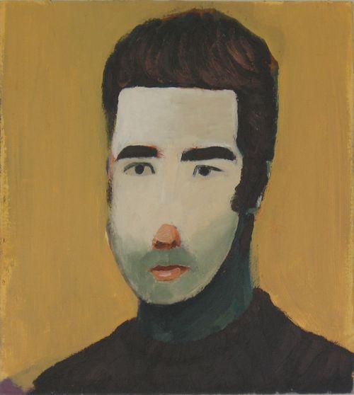 Selfportrait, 2005, 39 x 43 cm.