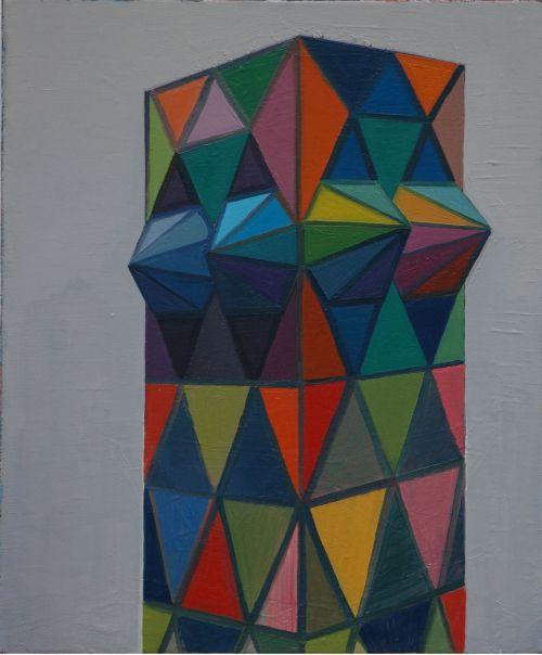 Tower, 2009, 60 x 50 cm