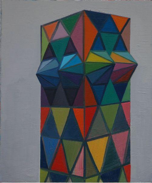 Tower, 2009, 60 x 50 cm