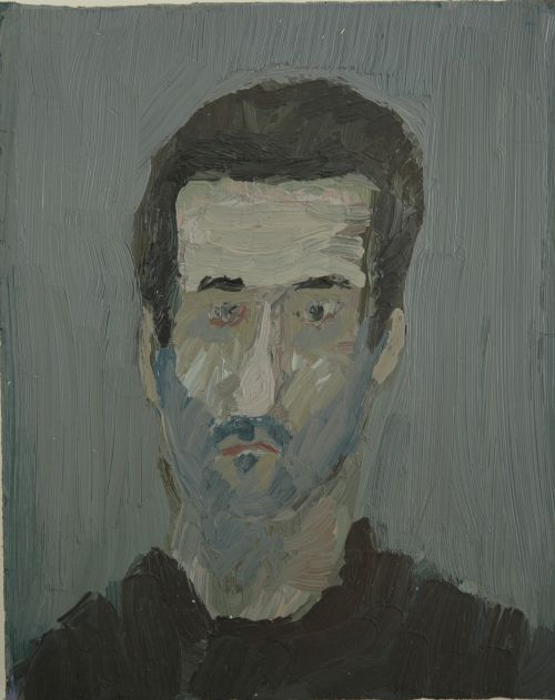 Self-portrait, 2006, 17,5 x 21 cm