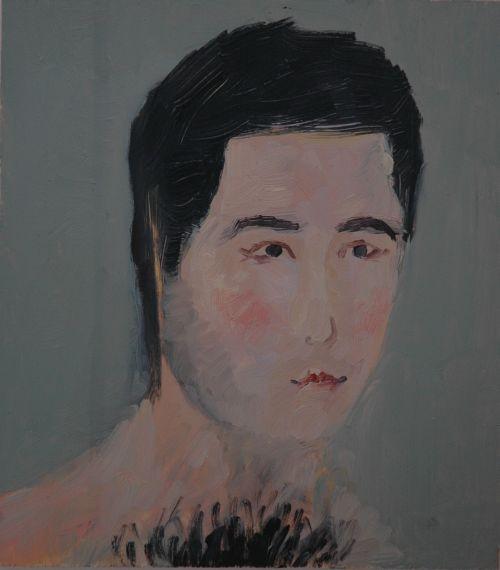 Self-portrait, 2006, 18,5 x 21 cm