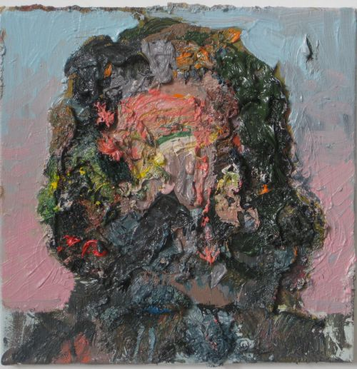 Self-portrait, 2010, 40 x 40 cm 2